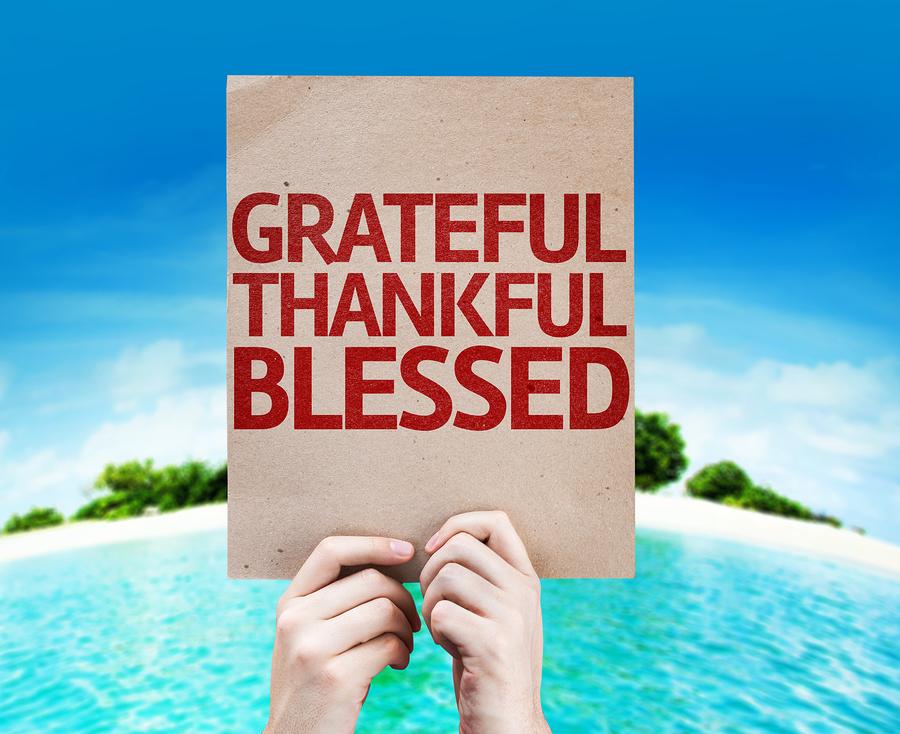 Grateful card.