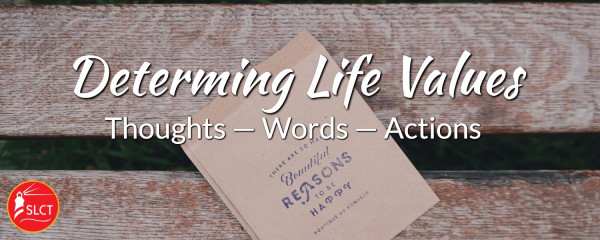 Determining life values